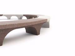 Panchina curva senza schienaleROMANA | Panchina curva - BELLITALIA