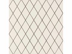 - Porcelain stoneware wall/floor tiles ROMBINI LOSANGE WHITE GREY - MUTINA