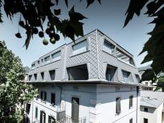 - Aluminium Metal shingle for roof ROOF RHOMBOID PANEL - PREFA ITALIA