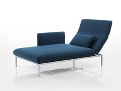 Chaise longue in tessutoRORO | Chaise longue in tessuto - BRÜHL & SIPPOLD