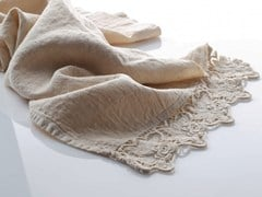 - Linen Table runner ROSE | Table runner - LA FABBRICA DEL LINO by Bergianti & Pagliani