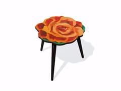 Tavolino di servizio in HPL e faggioROSE S - BAZARTHERAPY