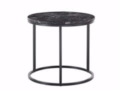 - Low marble coffee table ROSS | Round coffee table - Gianfranco Ferré Home