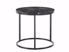 - Tavolino basso in marmo ROSS | Tavolino rotondo - Gianfranco Ferré Home