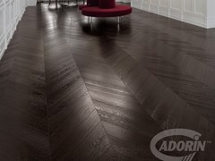 - Oak European Brushed Wengè parquet ROVERE TONO WENGÈ | Wooden parquet - CADORIN GROUP