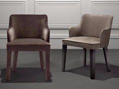 - Upholstered fabric chair with armrests ROYALE | Chair - Casamilano