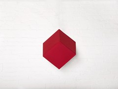 Pannello fonoassorbente cubico in tessuto a sospensioneRP CUBE - MAT&MAT - GROUP
