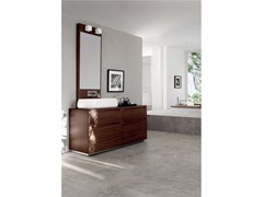 - Single zebrano vanity unit RUSH - COMPOSITION 13 - Arcom