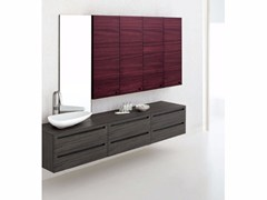 - Zebrano bathroom cabinet / vanity unit RUSH - COMPOSITION 8 - Arcom