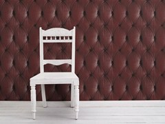 - Wallpaper RED CHESTERFIELD BUTTON BACK - Mineheart