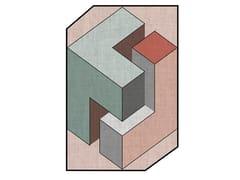 Tappeto in tessuto a motivi geometriciILLUSION - ADRIANI E ROSSI EDIZIONI