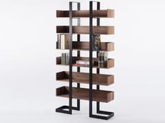 Libreria a giorno autoportante in legnoSÉVERIN 3   Libreria - ALEX DE ROUVRAY DESIGN