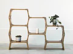 Libreria a giorno in legnoS4 - MODOS