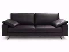 - 3 seater leather sofa SAINT JOHN PERSE | 3 seater sofa - Canapés Duvivier