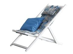 Sedia a sdraio pieghevole reclinabileSAINT TROPEZ - CHAARME