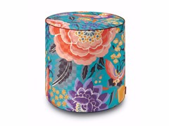 - Satin pouf with removable lining SAMOA | Pouf - MissoniHome