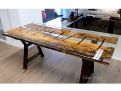 Tavolino rettangolareSAN MARCO   Tavolino in resina - ANTICO TRENTINO DI LUCIO SEPPI