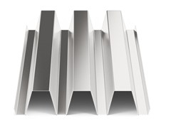 - Corrugated and undulated sheet steel SAND100 - SANDRINI METALLI
