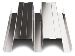 - Corrugated and undulated sheet steel SAND150 CLS - SANDRINI METALLI