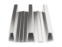 - Corrugated and undulated sheet steel SAND150 | Metal sheet and panel for roof - SANDRINI METALLI