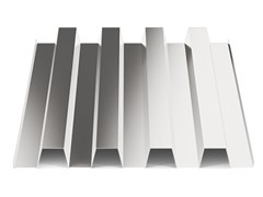 - Corrugated and undulated sheet steel SANDA55 P600 | Sheet metal - SANDRINI METALLI