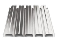 - Corrugated and undulated sheet steel SANDA55 P800 | Metal sheet - SANDRINI METALLI