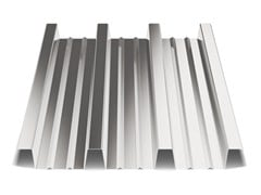- Corrugated and undulated sheet steel SANDA75 P760 - SANDRINI METALLI