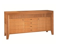 - Wooden sideboard with drawers SCACCHI | Sideboard - Morelato