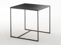 Tavolino basso da caffè in metalloSCALA | Tavolino - OAK INDUSTRIA ARREDAMENTI