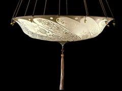 - Silk pendant lamp SCUDO SARACENO | Silk pendant lamp - Fortuny® by Venetia Studium