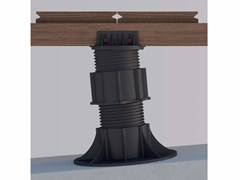 "- Modular system for raised flooring ""SE"" support system for any joist type - ETERNO IVICA"