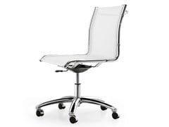 - Height-adjustable mesh task chair with 5-Spoke base with casters SEASON NET | Height-adjustable task chair - Quinti Sedute
