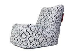 - Upholstered fabric armchair with removable cover SEAT SKIN DELUXE - Pusku pusku