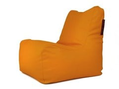 - Upholstered imitation leather bean bag SEAT SKIN OUTSIDE - Pusku pusku