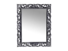 - Rectangular wall-mounted framed mirror SECOLO CHROME - KARE-DESIGN