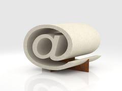 Seduta da esterni in pietra ricostruitaSEDUT@3.0 - MANUFATTI VISCIO