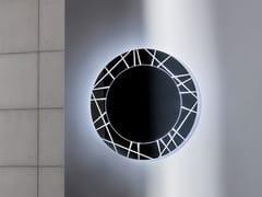 - Round wall-mounted mirror SEGMENT ROUND - SOVET ITALIA