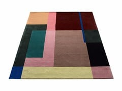 - Wool rug with geometric shapes SELMA - Massimo Copenhagen