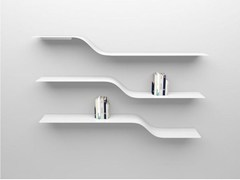 - Powder coated aluminium wall shelf SET 4 - VIDAME CREATION