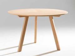 Tavolo ovale in legno impiallacciatoSEVEN | Tavolo ovale - GAMADECOR