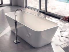- Freestanding rectangular bathtub SHAPE 01 - LASA IDEA