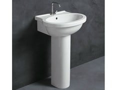 - Ceramic washbasin SHORT 55 | Washbasin - Alice Ceramica