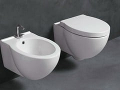 - Wall-hung ceramic toilet SHORT | Wall-hung toilet - Alice Ceramica