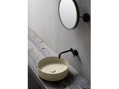 Lavabo da appoggio rotondo in ceramicaSHUI COMFORT | Lavabo rotondo - CERAMICA CIELO
