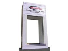 Monoblocco con cassonetto ad ispezione esterna o internaSHUTTER BOX - AVVOLGIBILI - RE.PACK