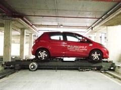 Sistema di parcheggio automaticoSHUTTLE PARK T - PARKPIÙ