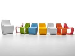 Sedia in polietileneSIGN BABY - MDF ITALIA