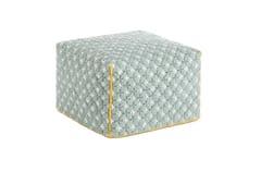 - Upholstered fabric pouf SILAÏ | Pouf - GAN By Gandia Blasco