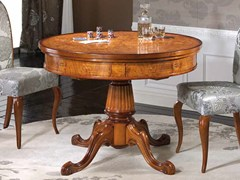 - Round solid wood table SILVIA | Table - Arvestyle