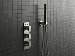 - 3 hole shower mixer SINOX | Shower mixer - Signorini Rubinetterie